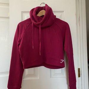 Gymshark Cropped Turtleneck Sweatshirt